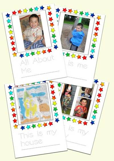about me activity,scrapbook