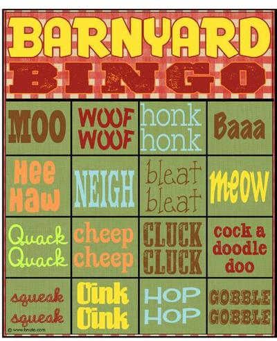 bingo,kids game,party game