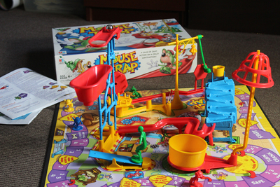 Instructions for the Mouse Trap Board Game | Our Pastimes