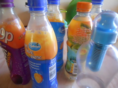 bottles, soft drinks