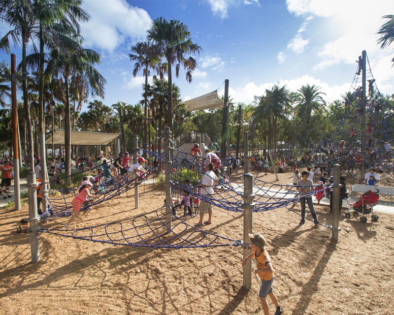 Darling Quarter Playground  - Free Ways to Keep the Kids Busy During the Winter School Holidays