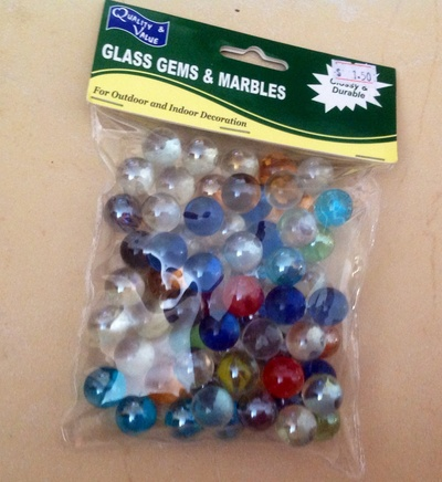 Marbles, game, decoration, store, shop, packet of marbles, set up