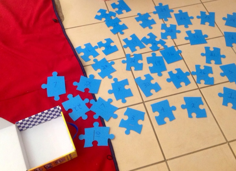 Puzzle, puzzle pieces, rug, floor, sorting, sequence  - Other things to do with puzzles