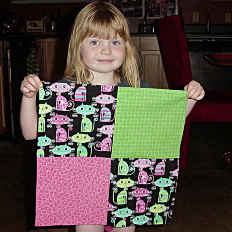 Tips on Teaching Children to Quilt